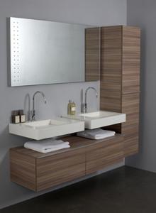 Wasbak badkamer tooninstijl